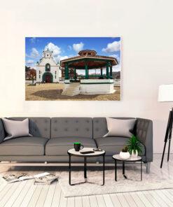 Cuadro Decorativo para Sala San Juan Chamula